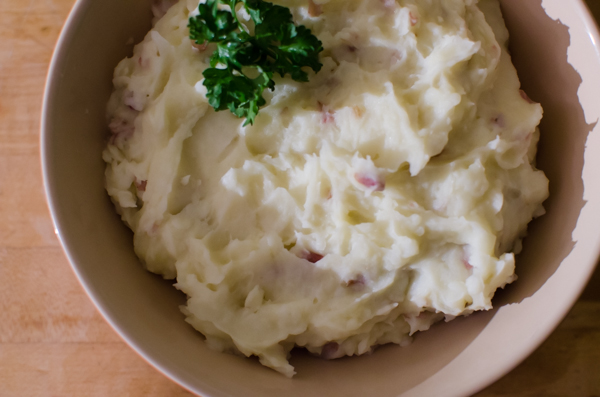 Whole30 Garlic Ghee Mashed Potatoes